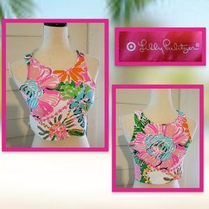 Lilly Pulitzer For Target Floral Crop Top